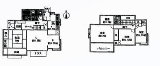 四街道市美しが丘 中古一戸建て 四街道駅  4SLDK建坪39坪超‼書斎もございます。