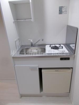 プランドルアムール志茂のコンパクトなキッチンで掃除もラクラク☆
