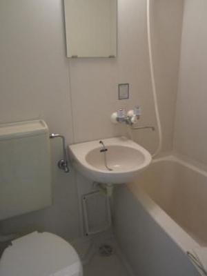 【浴室】プチハイツコマヅル