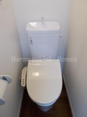 フェリスビアンコのゆったりとした空間のトイレです☆