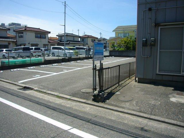 【外観】掘割駐車場