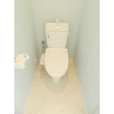 レスタシア穴川のトイレ