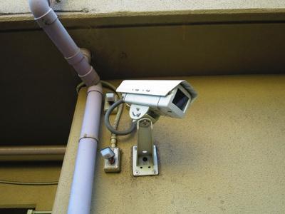 防犯カメラです
