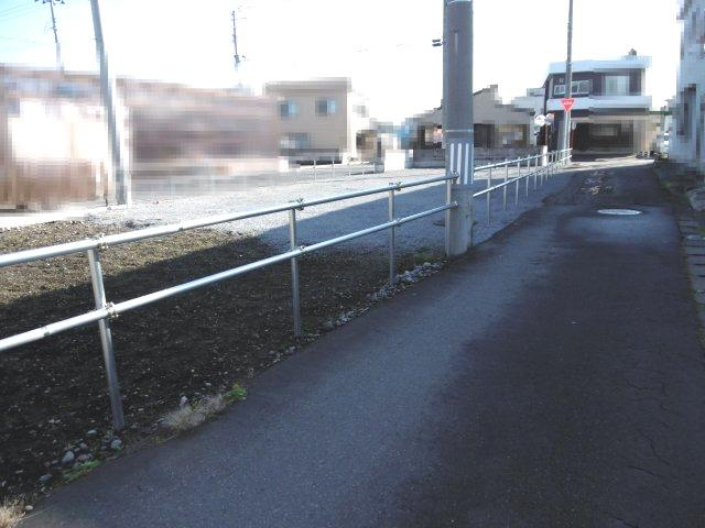 【前面道路含む現地写真】黒石市浜町売土地