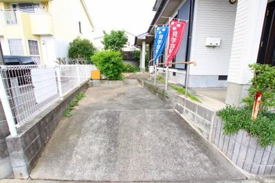 【駐車場】筑後市長浜 4LDK戸建