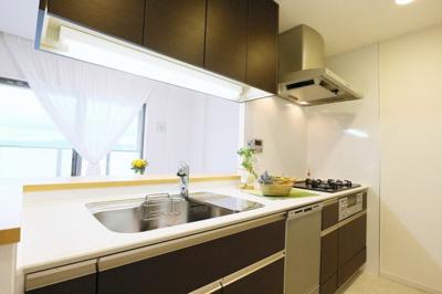 【キッチン】タイムズ・ピース・スクエア セントラルパークシティ
