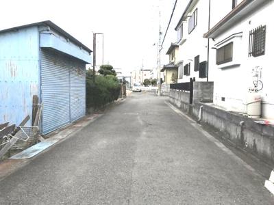 【前面道路含む現地写真】【売地】海南中学校区・56468