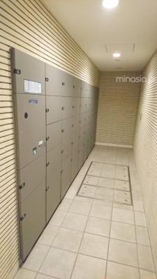 リーデンススクエア相模原:宅配ボックス