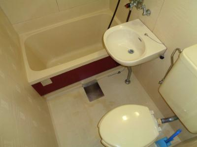 【浴室】村上ビルサンハイツ