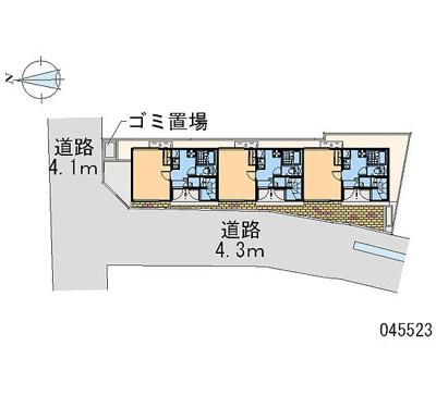 【区画図】レオネクストカレン