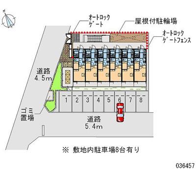 【区画図】舎利寺CF