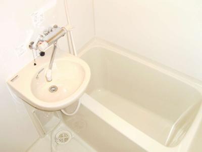 【浴室】レオパレスウォーターウェーブ