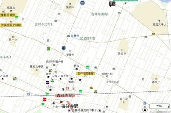 【地図】吉祥寺十一小路テラス