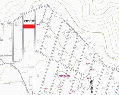 【地図】赤城ロマンド分譲地