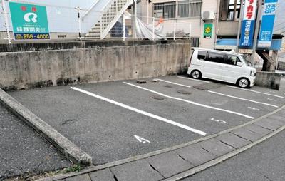 【駐車場】ユートピア