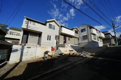 【外観】保土ヶ谷区西谷町 全3棟新築戸建て【成約済】
