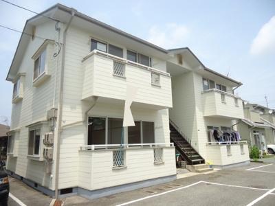 【バルコニー】西江コーポ B