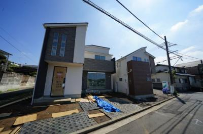 【外観】保土ヶ谷区峰岡町2丁目 全3棟新築戸建て【成約】