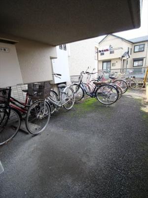 駐輪スペース!無料です