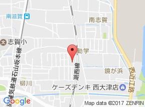 【地図】パークコート大津ANNEX