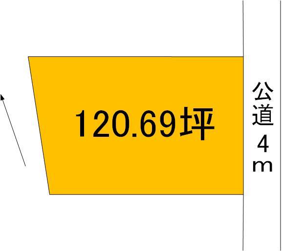【土地図】大洗町桜道土地