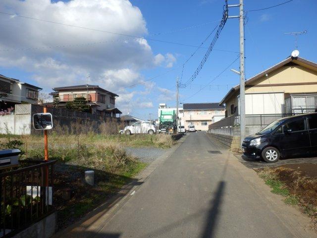 【前面道路含む現地写真】大洗町桜道土地