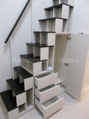 Urban studio 滝野川の収納付き階段☆