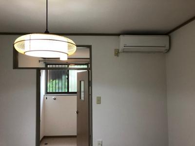 洋室照明付き