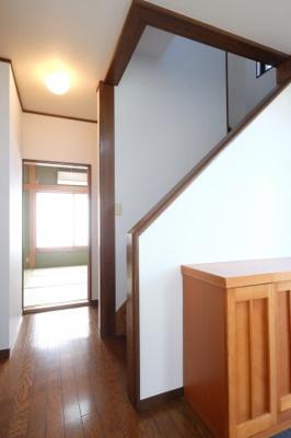 2階の上がる階段