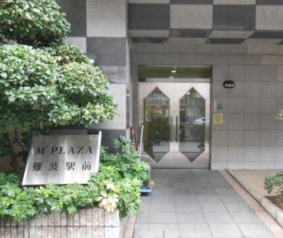 【エントランス】M PLAZA難波駅前
