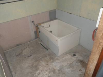 【浴室】能代市常盤町辺・中古住宅