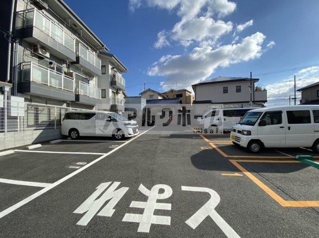 【駐車場】田中ハイツ