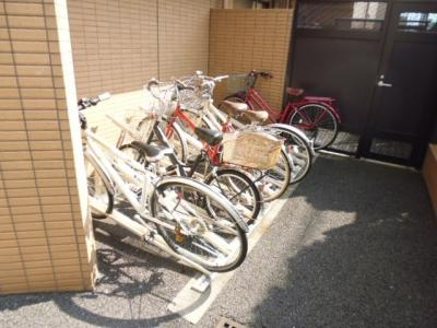 駐輪場あり。