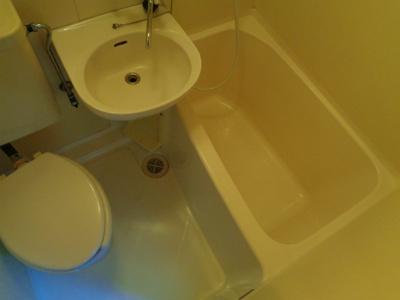 【浴室】グランシャトー田辺