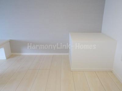ハーモニーテラス赤羽北の開放的な寝室です(ロフト)☆