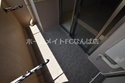 【バルコニー】ウエンズ東心斎橋