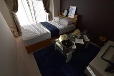 【寝室】Luxe難波西Ⅰ