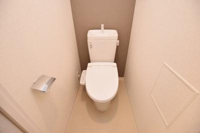 【トイレ】プレサンス難波クチュール