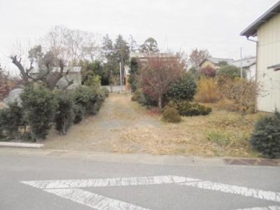 【外観】熊谷市東別府 1150万 土地