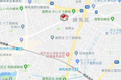 【地図】レオパレスユニティ(42847-302)