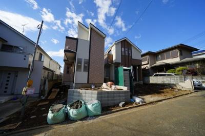 【外観】保土ヶ谷区西谷町 全2棟新築戸建て【成約済】