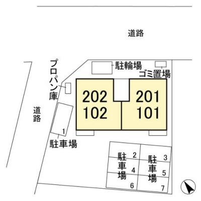【区画図】リアルコートD