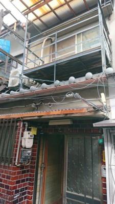 【外観】中道2丁目借家2階建て