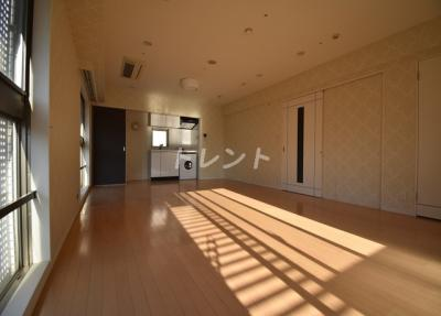 【居間・リビング】銀座パトリアタワー