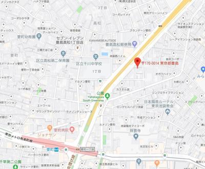 【地図】ビリーハウス