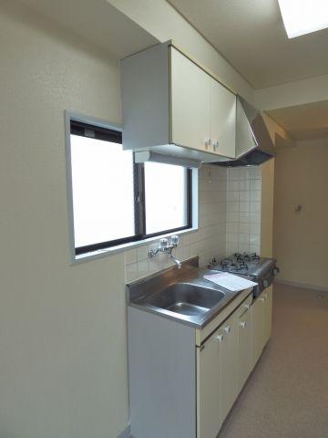 使いやすいキッチン※写真は206号室になります。