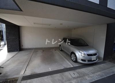 【駐車場】プレミアムキューブ三田