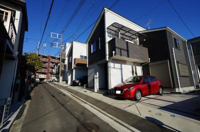 【前面道路含む現地写真】横浜市西区霞ヶ丘全25棟 新築戸建て