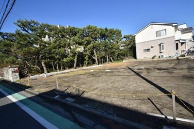 【外観】鵠沼海岸1丁目 建築条件なしの南道路