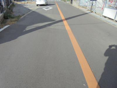 【前面道路含む現地写真】交野市幾野3丁目 新築一戸建